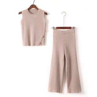 Terno Knitted Set