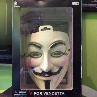 V For Vendetta Comic Book W/ Mask