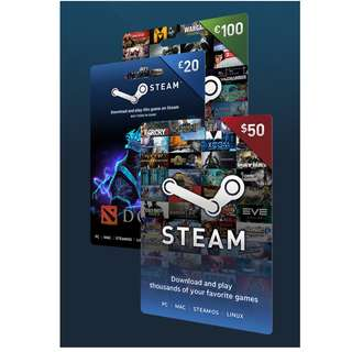 Steam Wallet Codes / Gift Cards