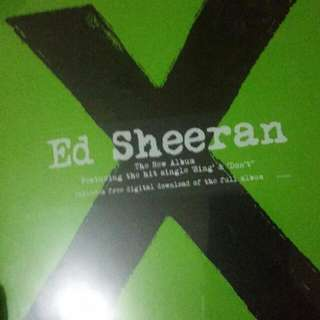 Ed Sheeran X Vinyl Album