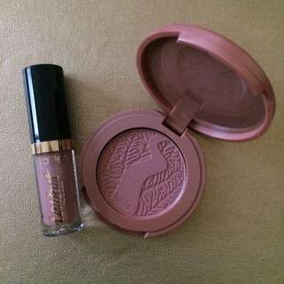 BNIB Tarte Amazonian Clay Blush And Lip Paint