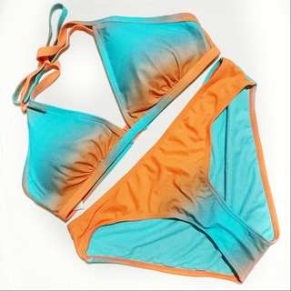 Two Piece Swimsuit For Plus Size