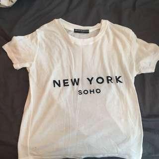 Brandy Melville New York Soho T-shirt
