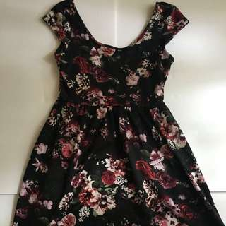 Tilly's Floral Skater Dress