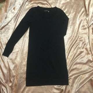 二手giordano Ladies黑色洋裝