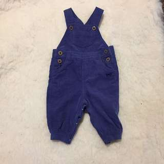 Ollie's Place Blue Corduroy  dungarees