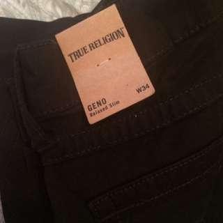 Women Size 34 True Religion Jeans.