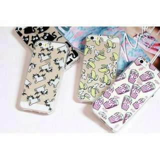 POPPING EYES Soft Jelly Casing iPhone 5 5s 5se 6 6s Case