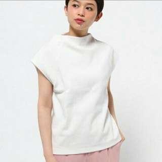 日本氣質品牌Mysty Woman小立領大氣灰色上衣