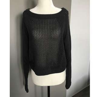 Lululemon Be Present Knit Cropped Sweater - size 6