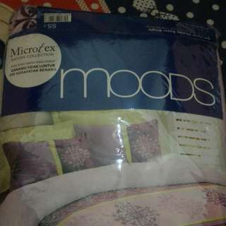 Sprei Microtex Sateen Moods