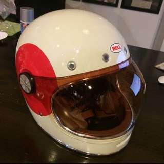 Bell TT Adult Bullitt Sports Racing Motorcycle Helmet
