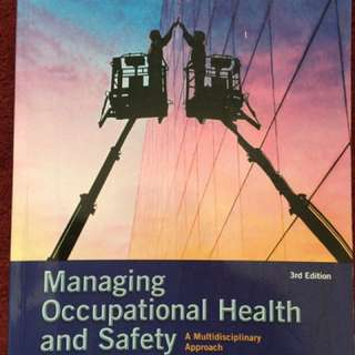 Managing Occupational Health & Safety