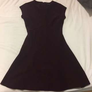 Banana Republic Burgundy Dress