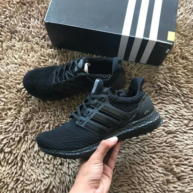 a02d91487 100% copy ori Ready stock Ultra boost 3.0 triple black (40-44.5) Rm160.00  pos sm Rm165.00 Pos Ss
