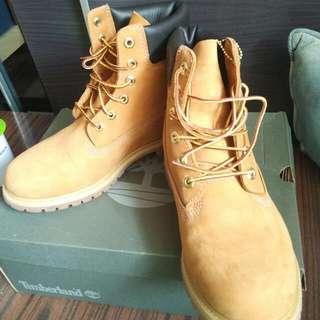 timberland正品女裝40(Us9)大黃靴鞋!