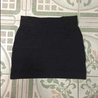 Folded and Hung Bodycon Skirt