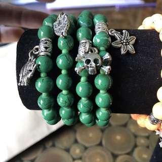 Gelang Green Marble