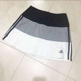 Adidas Tri Colour Skirt 8 10 S M