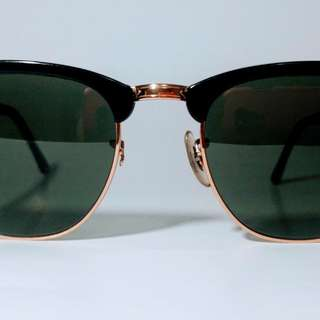 Authentic Ray-Ban Clubmaster Sunglasses