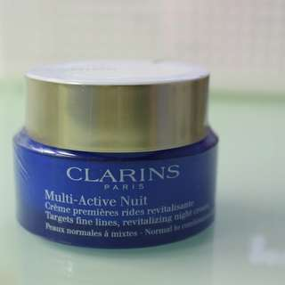 CLARINS Multi Active Nuit Revitalising Night Cream