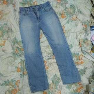 Margaret Chris Levi's 32 Long Jeans