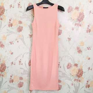 Peachy Bodycon Dress
