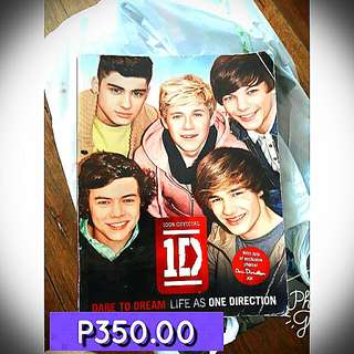 Sale! Sale! Sale!  Official One Direcrion Book - 350 Original Narito Comic Books - 2 For 500  STILL NEGOTIABLE PA!  Please Contact Me Here! 09286351787