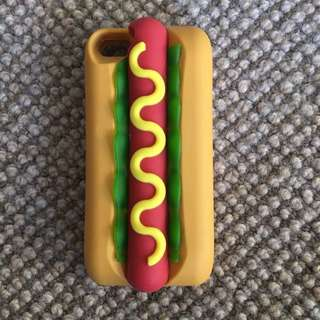 Urban Outfitter Hotdog Phone Case