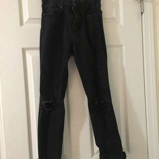 Mid-High rise jeans