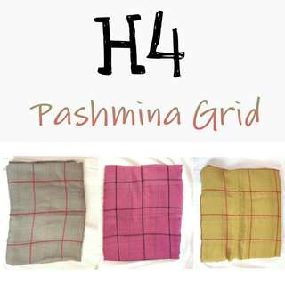Take All 60rb Pashmina Grid BARU