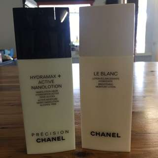Chanel Le Blanc Lotion And Hydramax Lotion