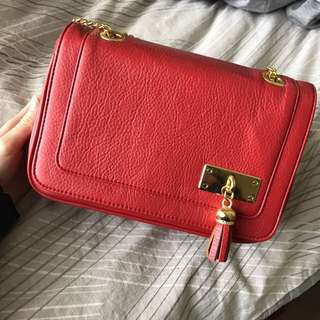 Red Box Type Bag