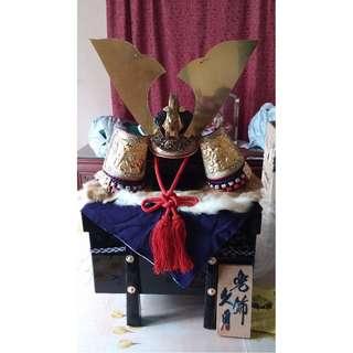 Samurai Warrior Helmet with Stand NEW SALE PRICE