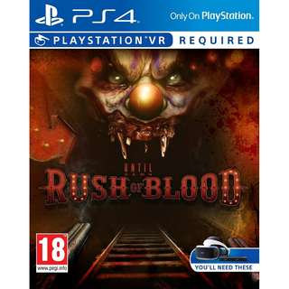 PS4 PSVR Until Dawn: Rush of Blood