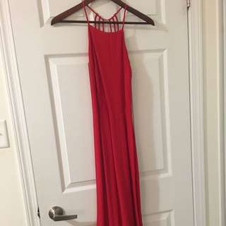 Opened Back Maxi Dress