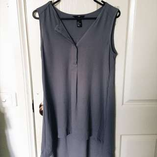 Sleeveless Waterfall Shirt