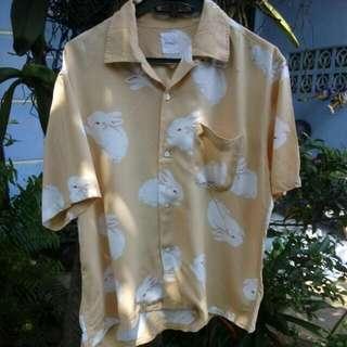 Karl Helmut Rabbit Shirts Size M Fit S