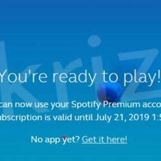 Premium Spotify for 2yrs with 1yr Warranty