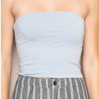 BRANDY MELVILLE BLUE TUBE TOP