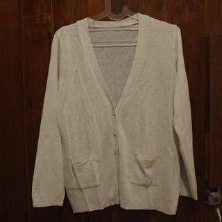 cardigan abu / broken white