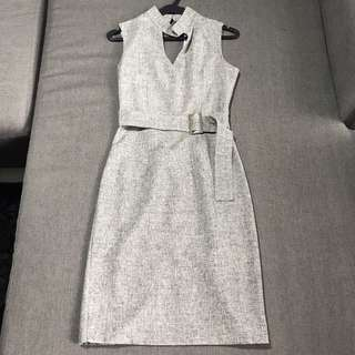 New Grey Dress For Cheap Sale