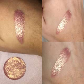 Rose Gold Foiled Eyeshadow