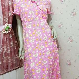 Dress Katun Import