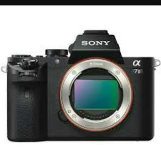 Sony A7 Mark ii
