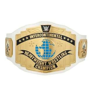 WWE WHITE INTERCONTINENTAL CHAMPIONSHIP COMMEMORATIVE (2014)