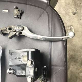 Gsr400 Brake Lever And Brake Switch