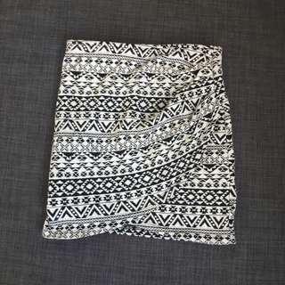 Supré Print Mini Pencil Skirt (XXS)