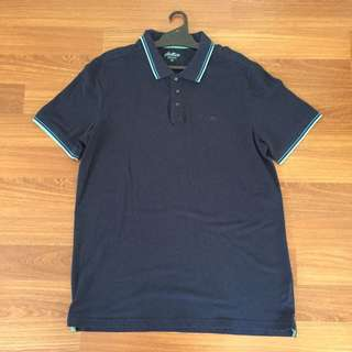 Plain Blue Polo