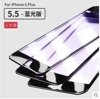 聖鉑蘋果6plus鋼化膜4.7 5.5吋